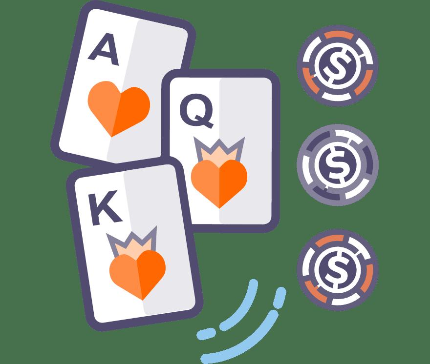 Los 43 mejores sitios de Casino de Póker de tres cartas en línea en Ecuador